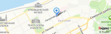 Старый город на карте Перми
