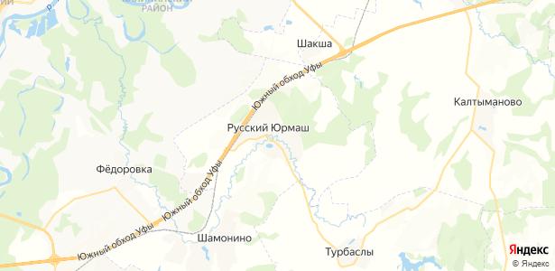 Русский Юрмаш на карте