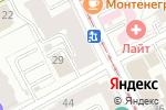 Схема проезда до компании Адвокатская контора №2 в Перми
