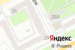 Схема проезда до компании Строн-М в Перми