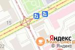 Схема проезда до компании Metri-X в Перми
