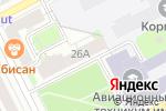 Схема проезда до компании REVLON PROFI в Перми