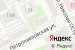 Схема проезда до компании Квант в Перми