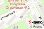 Схема проезда до компании Пятый элемент в Перми
