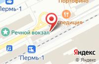 Схема проезда до компании Компания Элетех в Перми
