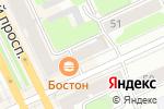 Схема проезда до компании Baby Fashion в Перми