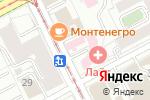 Схема проезда до компании Юнит в Перми