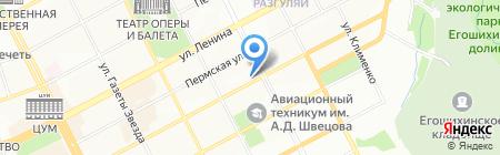 ПСВ-Снаб на карте Перми