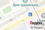 Схема проезда до компании Сарс в Перми