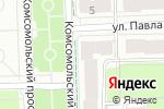 Схема проезда до компании День и ночь в Перми