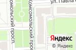 Схема проезда до компании Волшебный сундучок в Перми