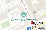 Схема проезда до компании Дом художника в Перми