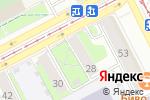 Схема проезда до компании HOLLYWOOD в Перми