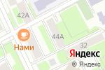 Схема проезда до компании Адвокатский кабинет Агафонова Е.Л. в Перми