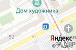 Схема проезда до компании Евромода в Перми