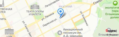 ГлавСтройИндустрия на карте Перми