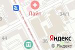 Схема проезда до компании ВИЗА ТРЭВЕЛ в Перми