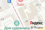 Схема проезда до компании Legrand в Перми
