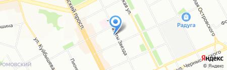 Дельта-Трэвел на карте Перми