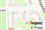 Схема проезда до компании Сибирь в Перми