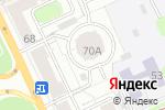 Схема проезда до компании ПроспектПрофи в Перми