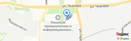 Коврижка на карте Перми