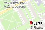 Схема проезда до компании Дизайн и Архитектура в Перми