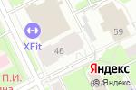 Схема проезда до компании Ваш дом в Перми