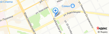 Талан на карте Перми
