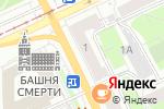 Схема проезда до компании Pegas Touristik в Перми