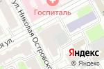 Схема проезда до компании ЯКОСМЕТОЛОГ в Перми