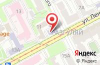 Схема проезда до компании Нефтеком в Перми