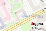 Схема проезда до компании Gloss studiO в Перми