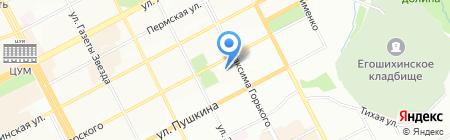 Репорт на карте Перми