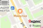 Схема проезда до компании Green Club в Перми