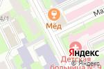 Схема проезда до компании Sinestetica в Перми