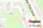 Схема проезда до компании Хобби club в Перми