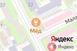 Схема проезда до компании Торговый Город в Перми