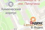 Схема проезда до компании Всероссийское общество инвалидов в Перми