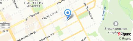 Детский сад №238 на карте Перми