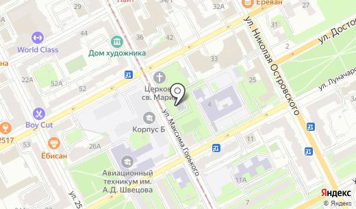 Детский сад №238. Схема проезда в Перми