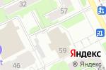 Схема проезда до компании Студия игры на гитаре в Перми