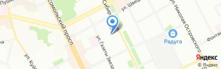 Веселые человечки на карте Перми
