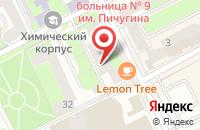 Схема проезда до компании Геоконсалтингпермь в Перми