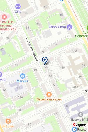 ПРОИЗВОДСТВЕННО-ТОРГОВАЯ КОМПАНИЯ МИР СТЕКЛА И ЗЕРКАЛА на карте Перми