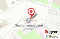 Схема проезда до компании MUN ART в Ромашково