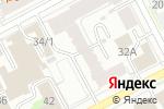Схема проезда до компании Эстетика Плюс в Перми