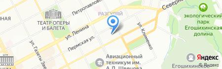 Эко-Дэйт на карте Перми