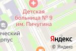 Схема проезда до компании Настена-Сластена в Перми