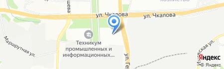 Орматек на карте Перми